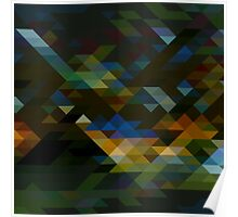 Geometric Pattern 5 Poster