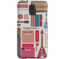 compilation guitar and amplifier Samsung Galaxy Case/Skin