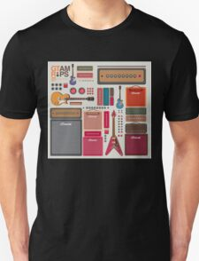 compilation guitar and amplifier T-Shirt