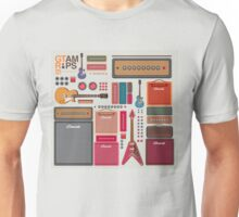 compilation guitar and amplifier Unisex T-Shirt