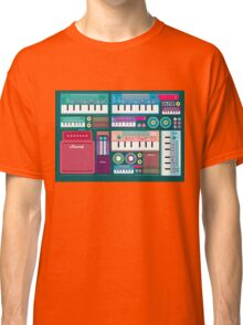 Colorful Synthesizer  Classic T-Shirt