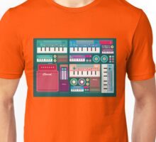 Colorful Synthesizer  Unisex T-Shirt