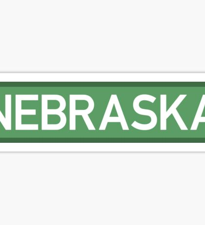 Nebraska G Sticker