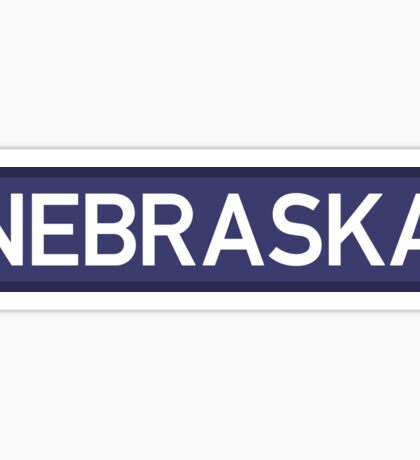 Nebraska B Sticker