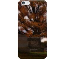Final resting place iPhone Case/Skin
