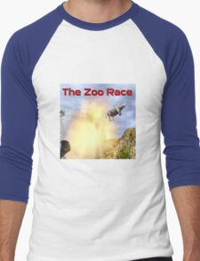 The Zoo Race Cannon Men's Baseball ¾ T-Shirt