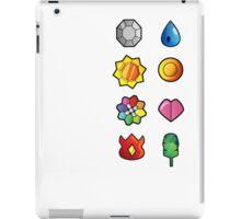 Kanto Pokemon Badges Full Set iPad Case/Skin