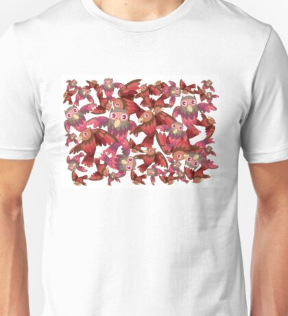 Cute random owl pattern Unisex T-Shirt
