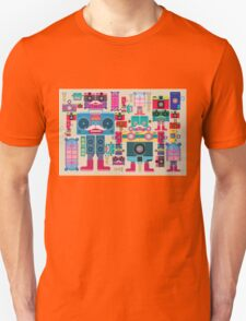 vintage robot and camera composition T-Shirt