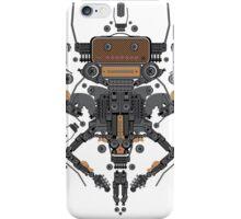 guitar robot character design iPhone Case/Skin