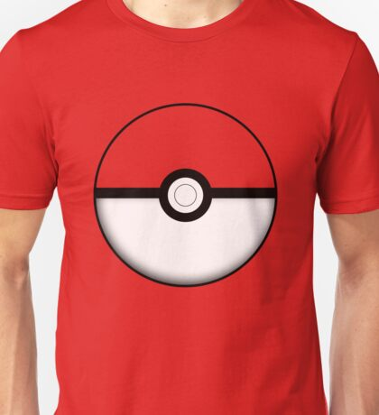 Colored Poké Ball Unisex T-Shirt