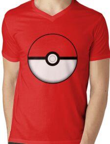 Colored Poké Ball Mens V-Neck T-Shirt