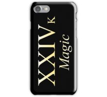 24k Magic Bruno Mars iPhone Case/Skin
