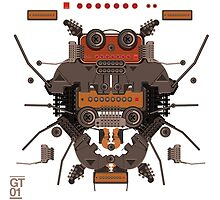 The robobugs guitar by singpentinkhepi