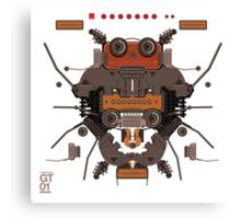 The robobugs guitar Canvas Print