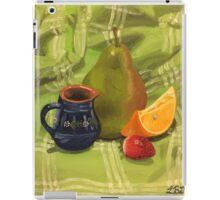 Fruit Still Life Painting iPad Case/Skin