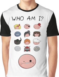 The Binding of Isaac characters Graphic T-Shirt