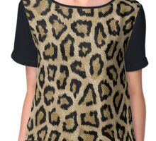 Beautiful leopard pattern design Chiffon Top