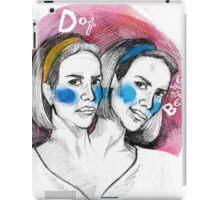 Dear diary, I see my future iPad Case/Skin
