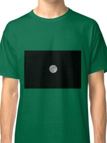 Super moon rising over an aerial view of Las Vegas city at night, Nevada, USA Classic T-Shirt