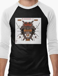 The robobugs guitar Men's Baseball ¾ T-Shirt