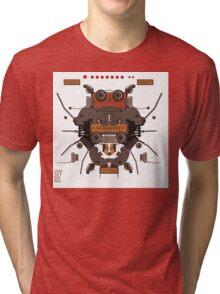The robobugs guitar Tri-blend T-Shirt