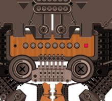 The robobugs guitar Sticker