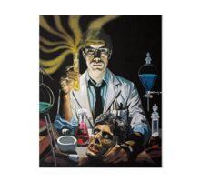 Re-Animator science fiction cover Art Board