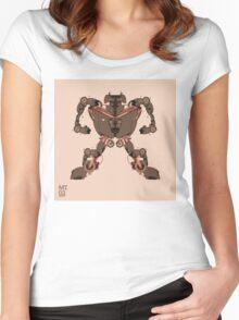 motorbike robo 1 Women's Fitted Scoop T-Shirt
