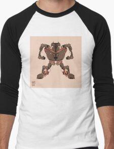 motorbike robo 1 Men's Baseball ¾ T-Shirt