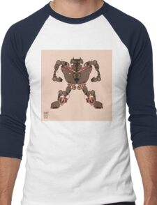 motorbike robo 1 Men's Baseball ¾ T-Shirt