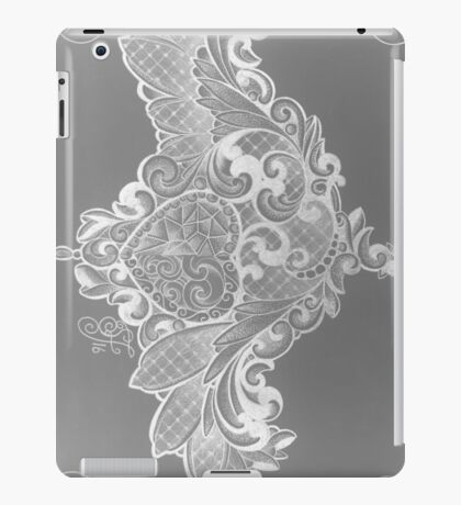 laced boobs iPad Case/Skin