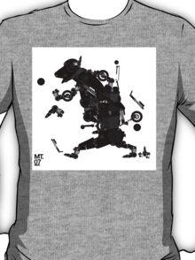black motorbike robo 2 T-Shirt