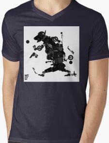 black motorbike robo 2 Mens V-Neck T-Shirt