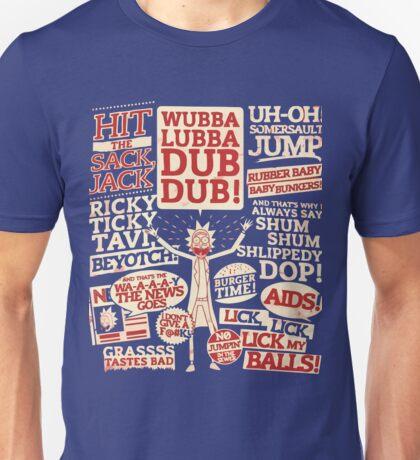 Rick's Catchphrases ! Unisex T-Shirt
