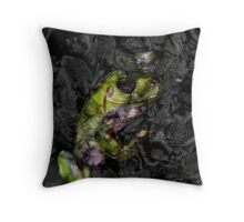Black Waters 2 Throw Pillow
