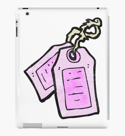 luggage tags cartoon iPad Case/Skin