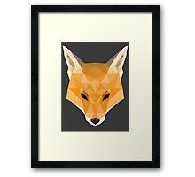Foxy Framed Print