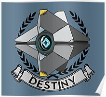 destiny ghost ensignia Poster