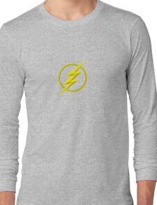 The Lighning Flash Speedster Sign Long Sleeve T-Shirt