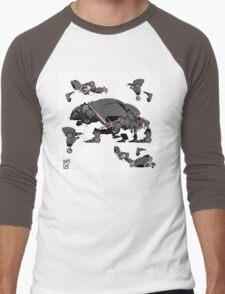 Animal robots Men's Baseball ¾ T-Shirt