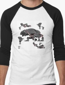 Animal robots Men's Baseball ¾ T-Shirt