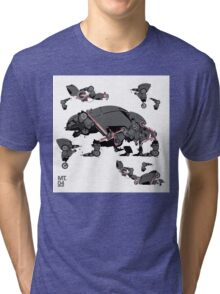 Animal robots Tri-blend T-Shirt