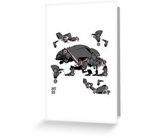 Animal robots Greeting Card