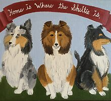 Home is Where the Sheltie Is by Lagoldberg28