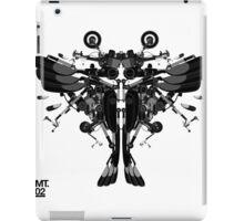 blackbird motorbike robo iPad Case/Skin