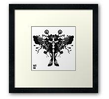 blackbird motorbike robo Framed Print