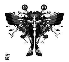 blackbird motorbike robo Photographic Print