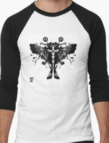blackbird motorbike robo Men's Baseball ¾ T-Shirt