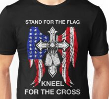 Stand For The Flag Kneel For The Cross T-Shirt Unisex T-Shirt